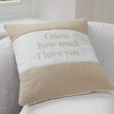 'Guess How Much I Love You' Cushion