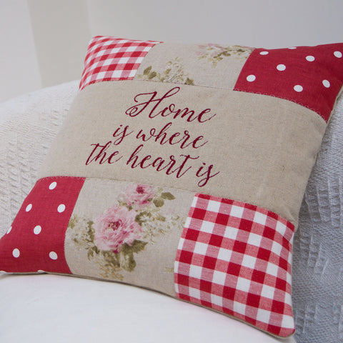 'Home Is Where The Heart Is' Cushion