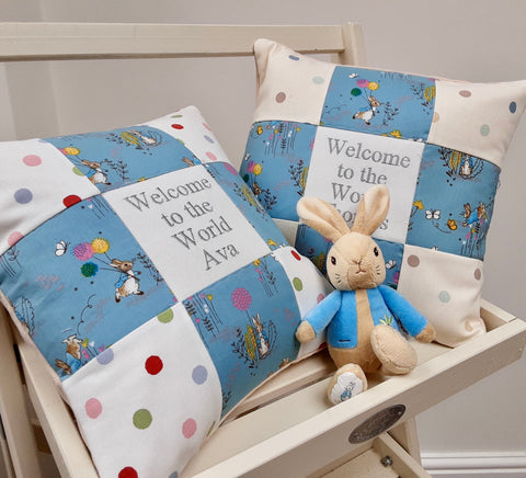 Peter Rabbit© Welcome To The World Cushion