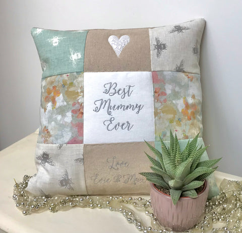'Best Mummy Ever' Cushion