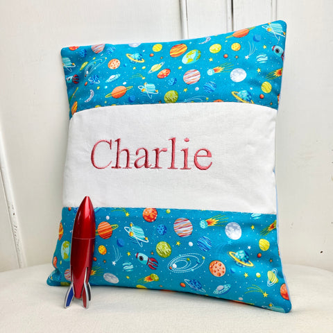 Planets name cushion