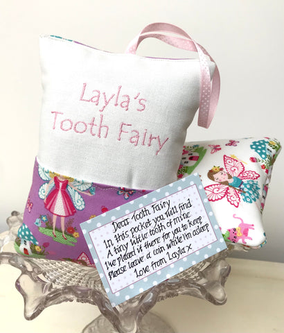 Fairy garden tooth fairy