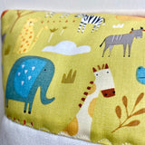 Prairie animals cushion