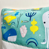 Ocean animals cushion