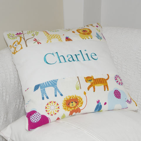Jungle Name Cushion