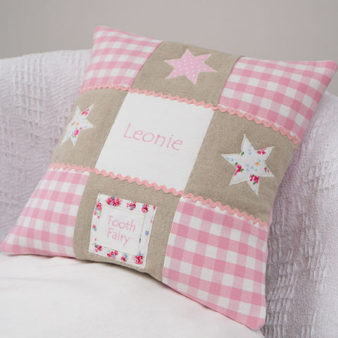 Little Star Tooth Fairy Cushion