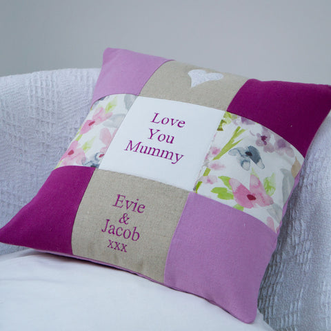 'Love You Mummy' Cushion
