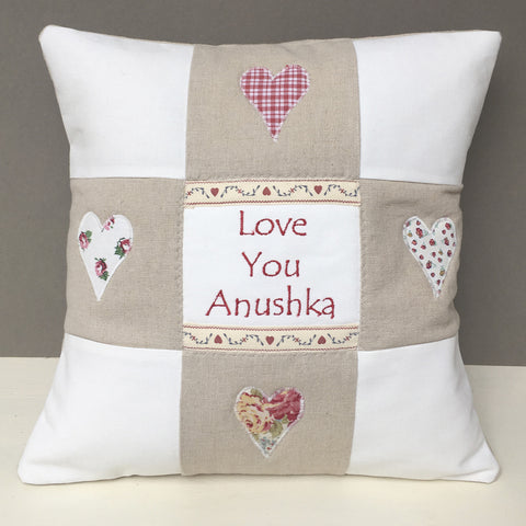'Love You' Cushion