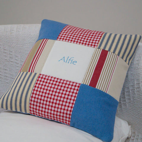 Nautical Name Cushion - Alfie