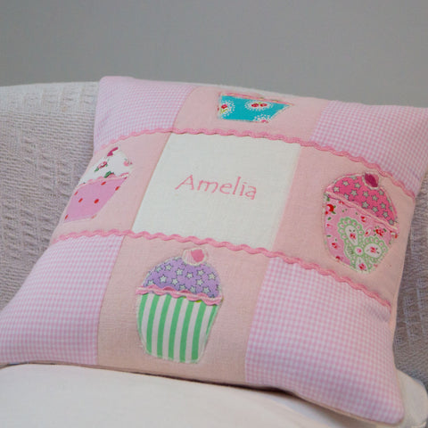 Name Cushion Pink - Amelia