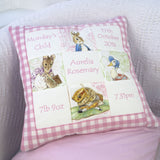 Beatrix Potter© Memory Cushion Red