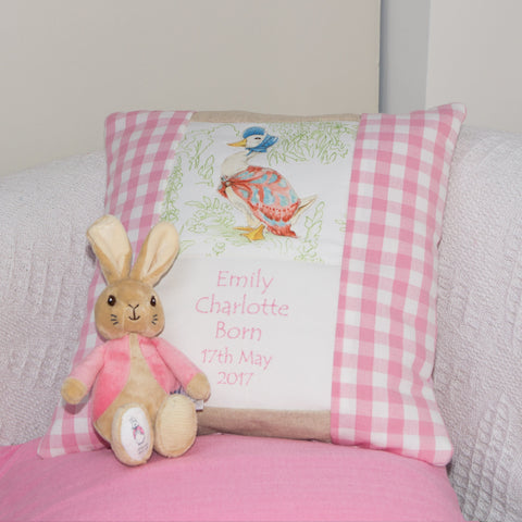 Beatrix Potter© Occasion Cushion Pink