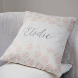 Feather Name Cushion Mint Green