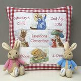 Beatrix Potter© Memory Cushion Pink
