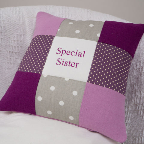 Spotty Special Sister Cushion