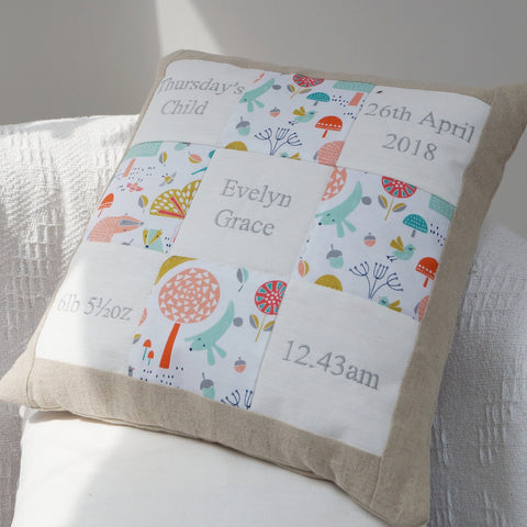 Woodland Memory Cushion