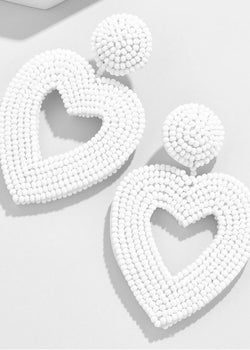 Pour Your Heart Out Statement Earrings - Brunch Babe