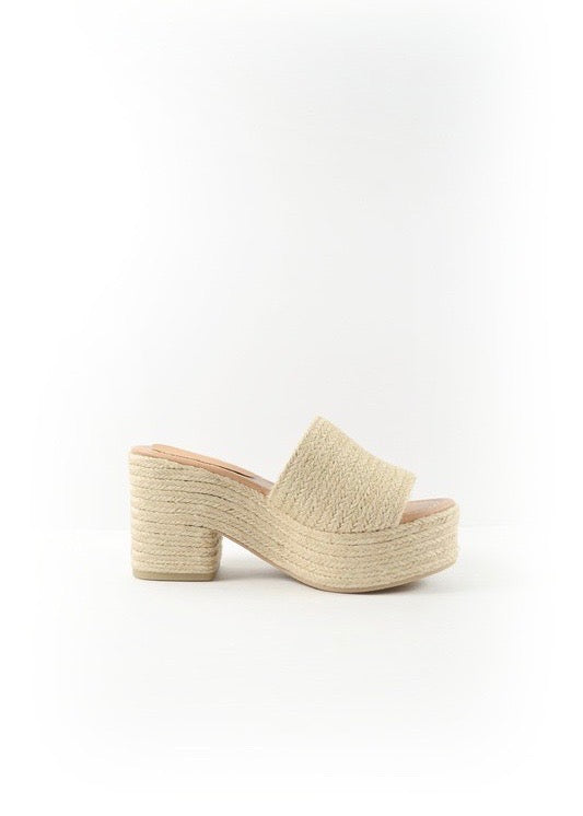 Neutral Jute Espadrilles - Brunch Babe