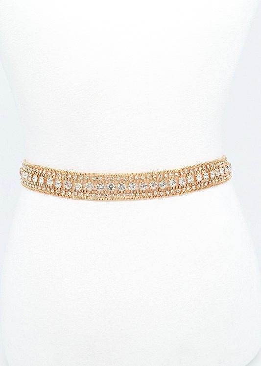 Bad Babe Bling Belt, Gold - Brunch Babe