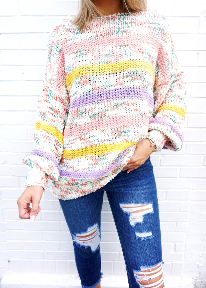 I Want it All Sweater - Brunch Babe