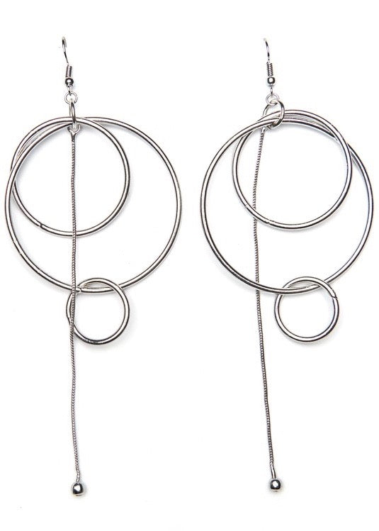 Triple Hoop Statement Earrings - Brunch Babe