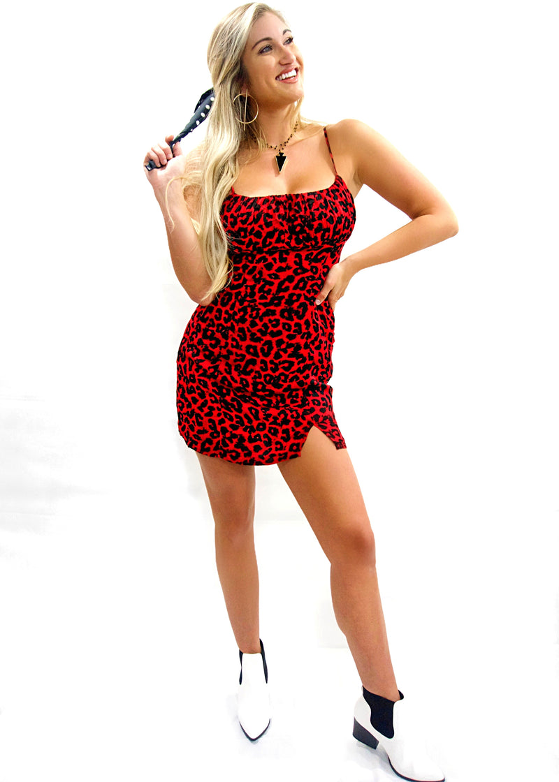 Red Leopard Mini - Brunch Babe
