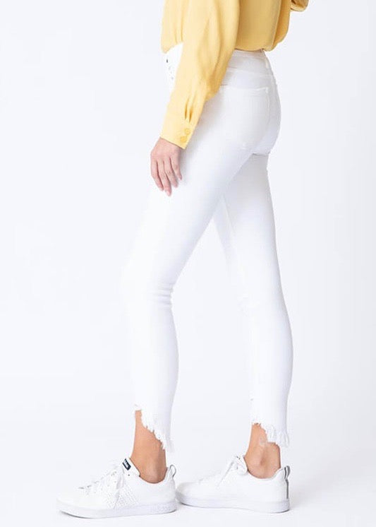 Signature White Skinnies - Brunch Babe
