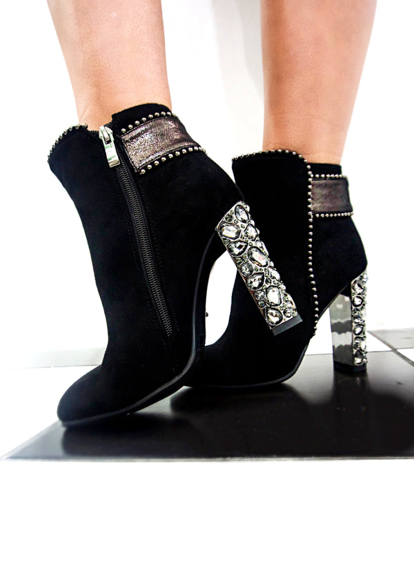 Elevated Bling Booties - Brunch Babe