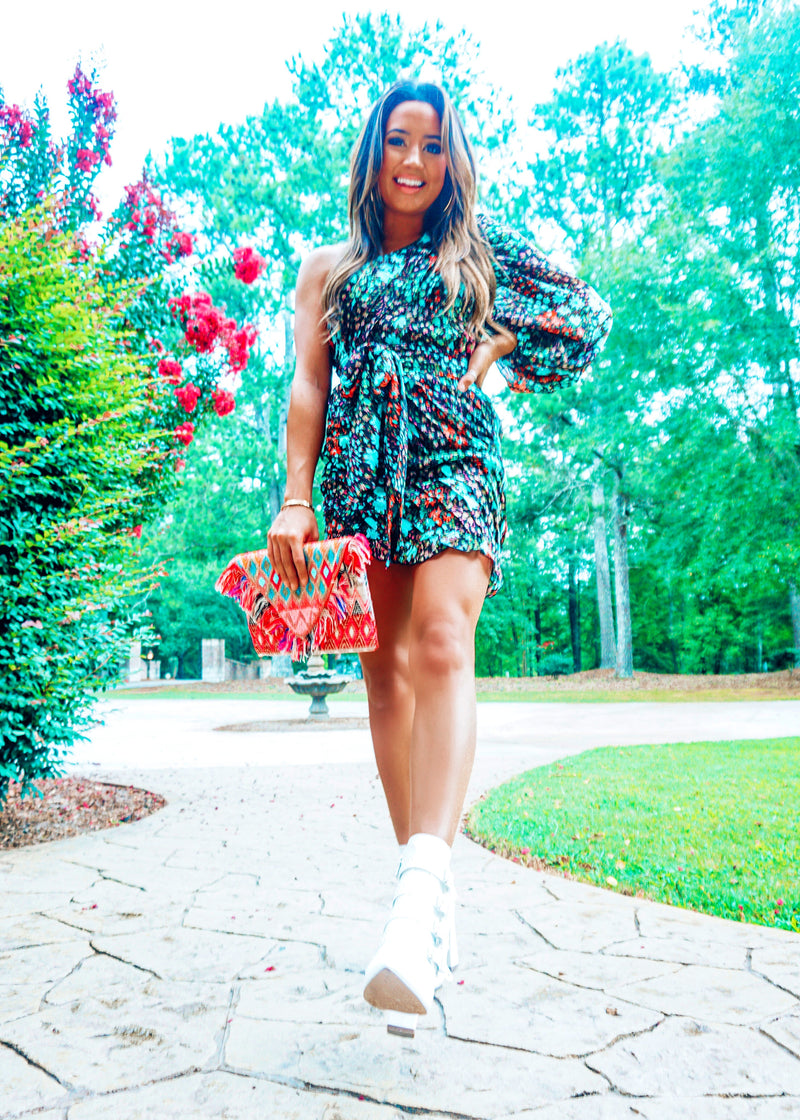 Take Me To Tulum Floral Dress - Brunch Babe