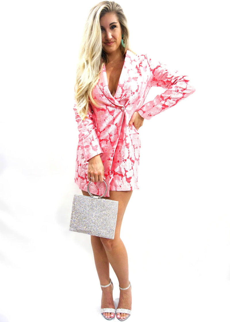 Barbie Blazer Dress - Brunch Babe