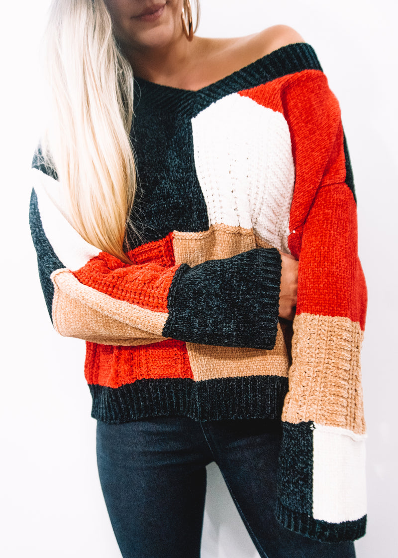 City Chic Sweater - Brunch Babe