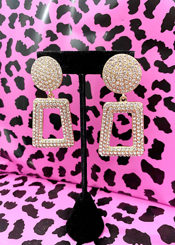 Box of Bling Statement Earrings - Brunch Babe
