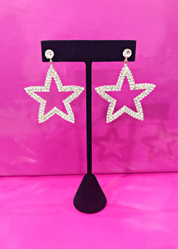 Glitz Star Earrings - Brunch Babe
