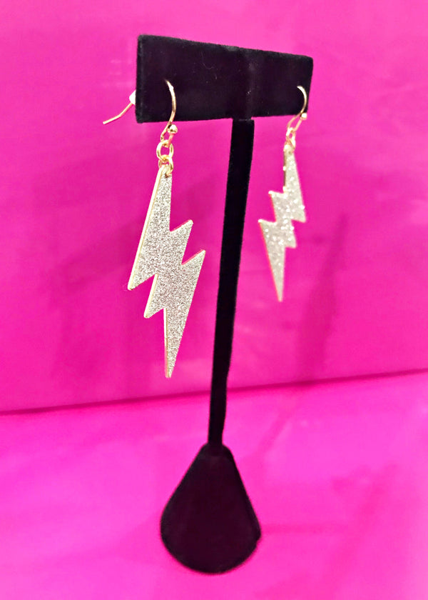 Electric Babe Statement Earrings - Brunch Babe