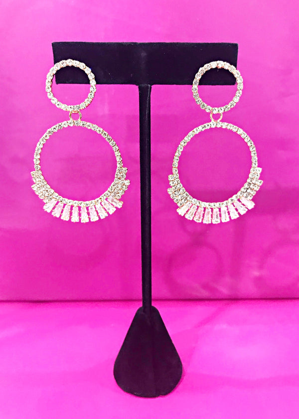 Penthouse Statement Earrings - Brunch Babe