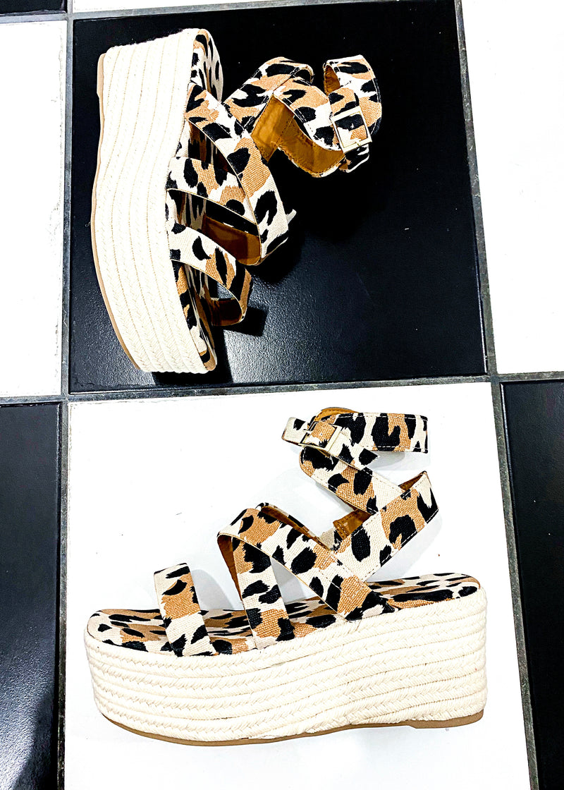 Level Up Leopard Platforms - Brunch Babe
