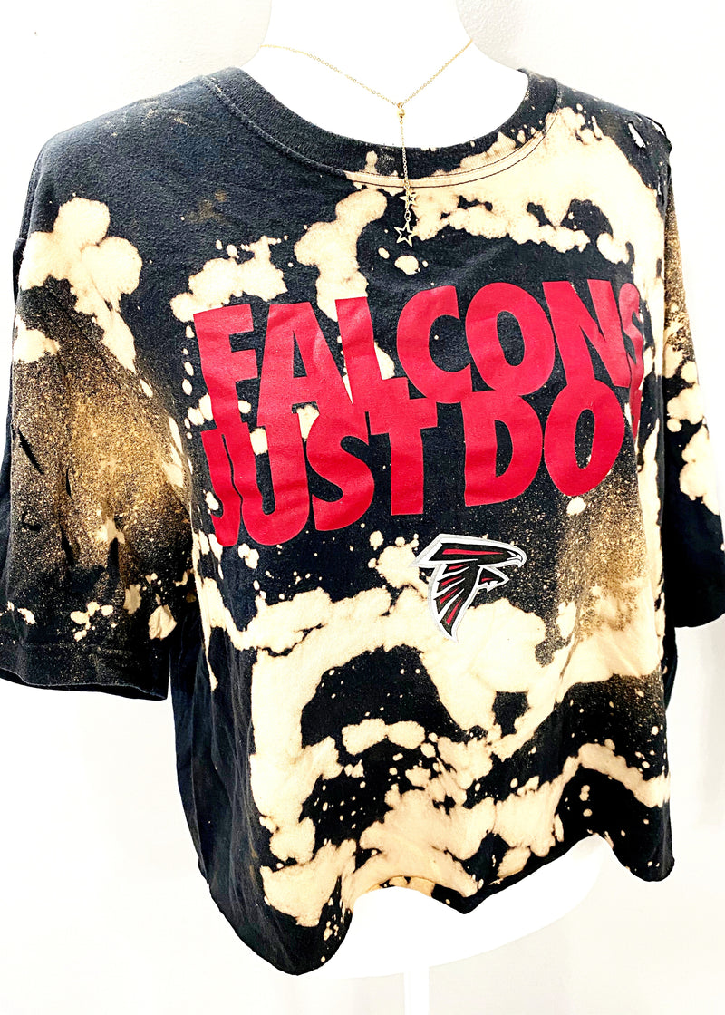 VINTAGE FALCONS JUST DO IT TEE - Brunch Babe