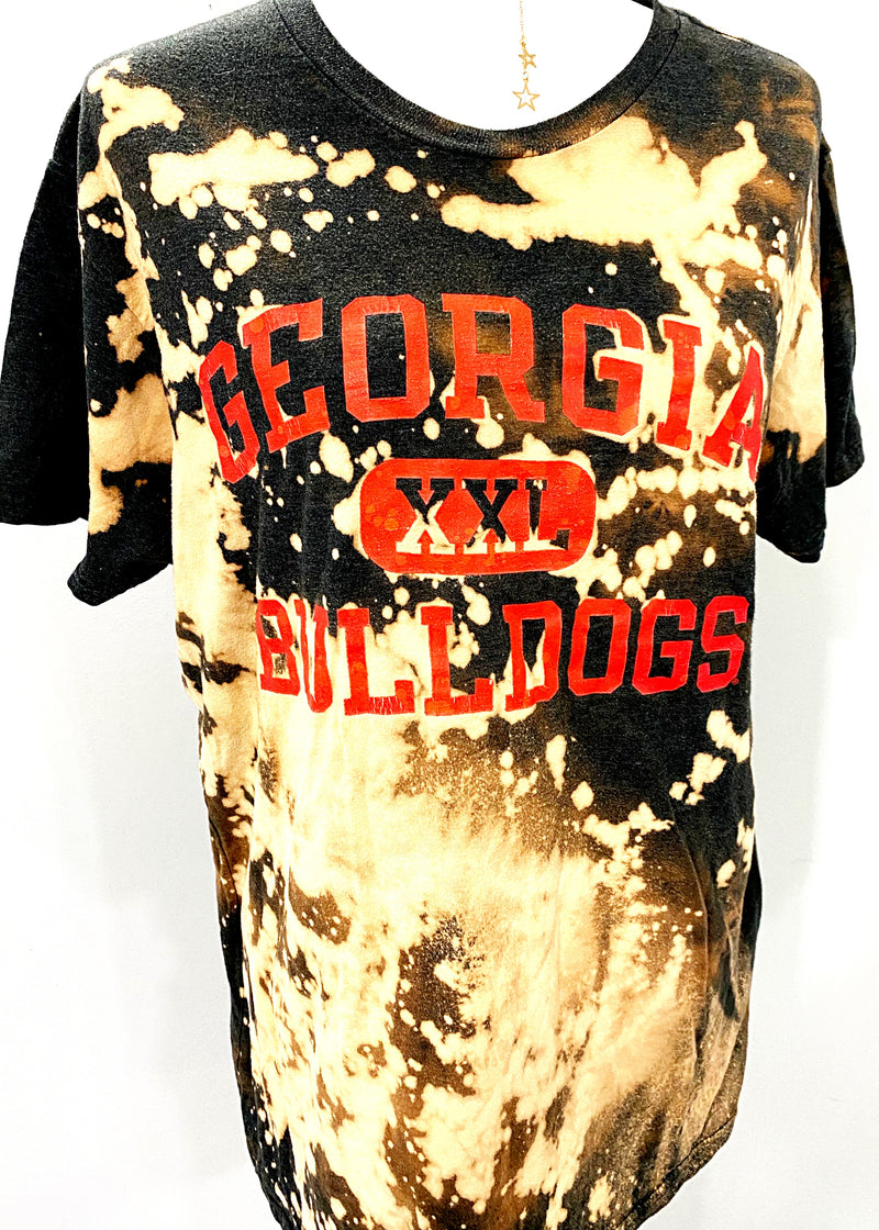 VINTAGE GEORGIA BULLDOGS XXL TEE - Brunch Babe
