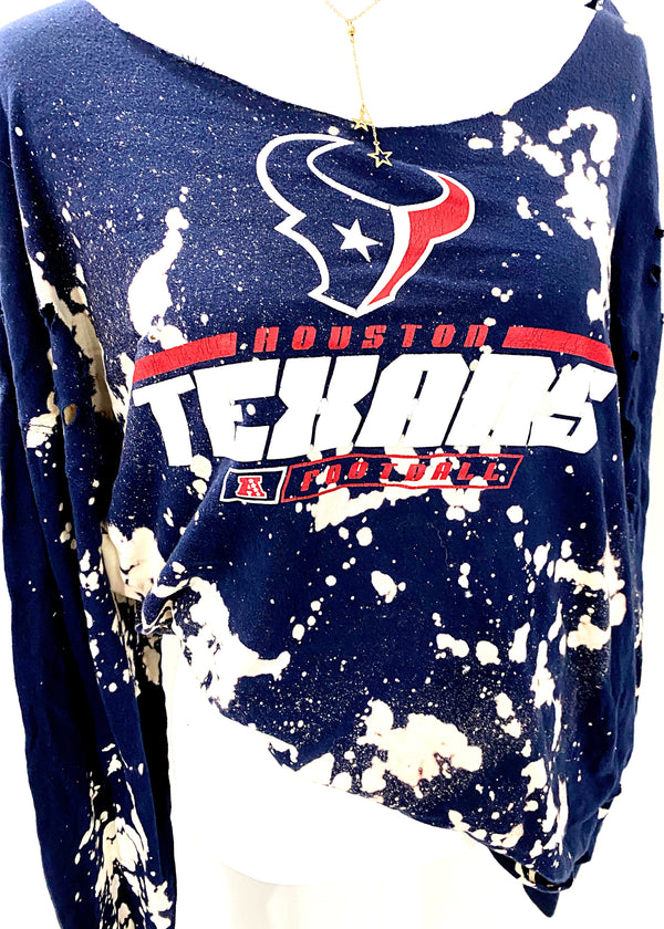 VINTAGE HOUSTON TEXANS LONG SLEEVE - Brunch Babe
