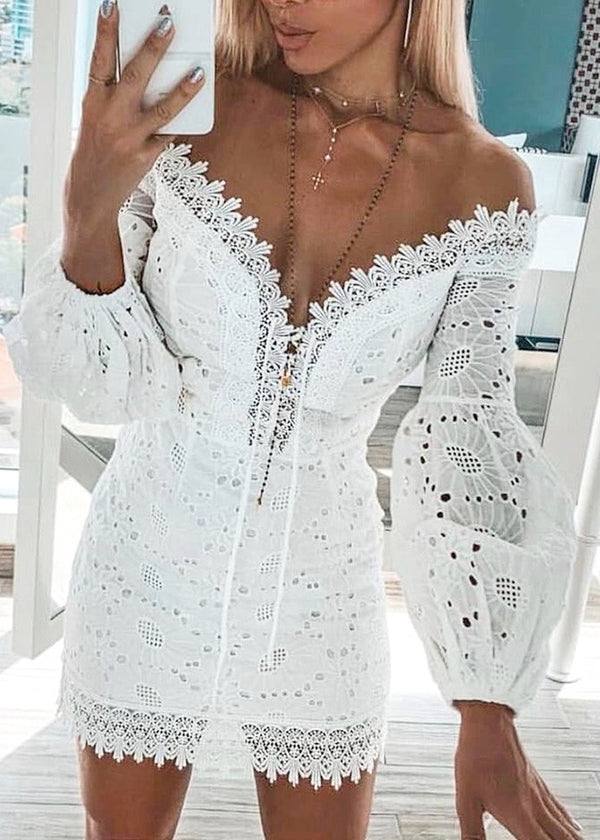 Forever Yours Lace Dress - Brunch Babe