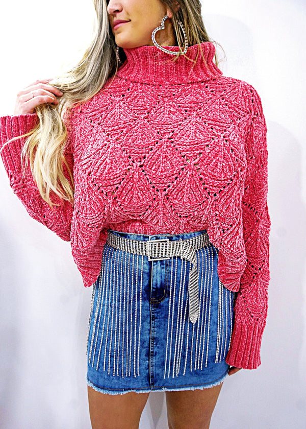 Barbie Girl Sweater - Brunch Babe