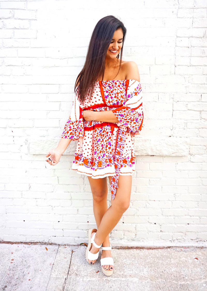 Sweetheart Shift Dress - Brunch Babe