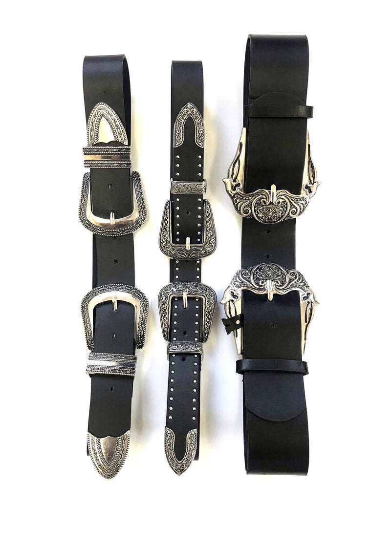 Double Up Leather Belt - Brunch Babe