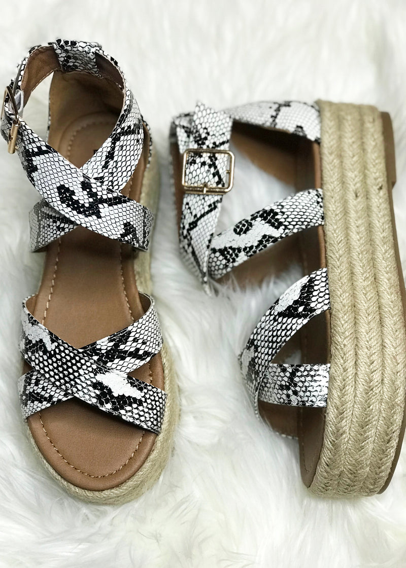 Fatima Snake Wedges - Brunch Babe