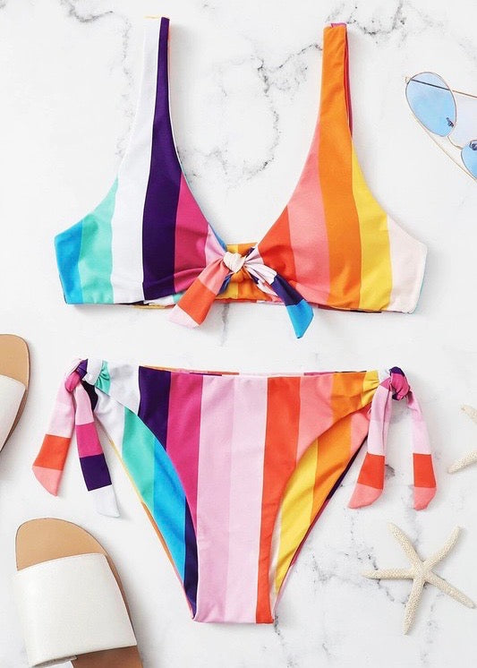 Colors of Summer Bikini Bottoms - Brunch Babe