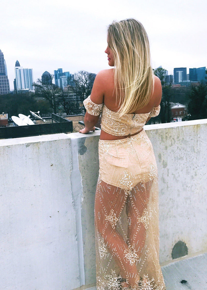 After the Glitter Fades Two-Piece Set - Brunch Babe