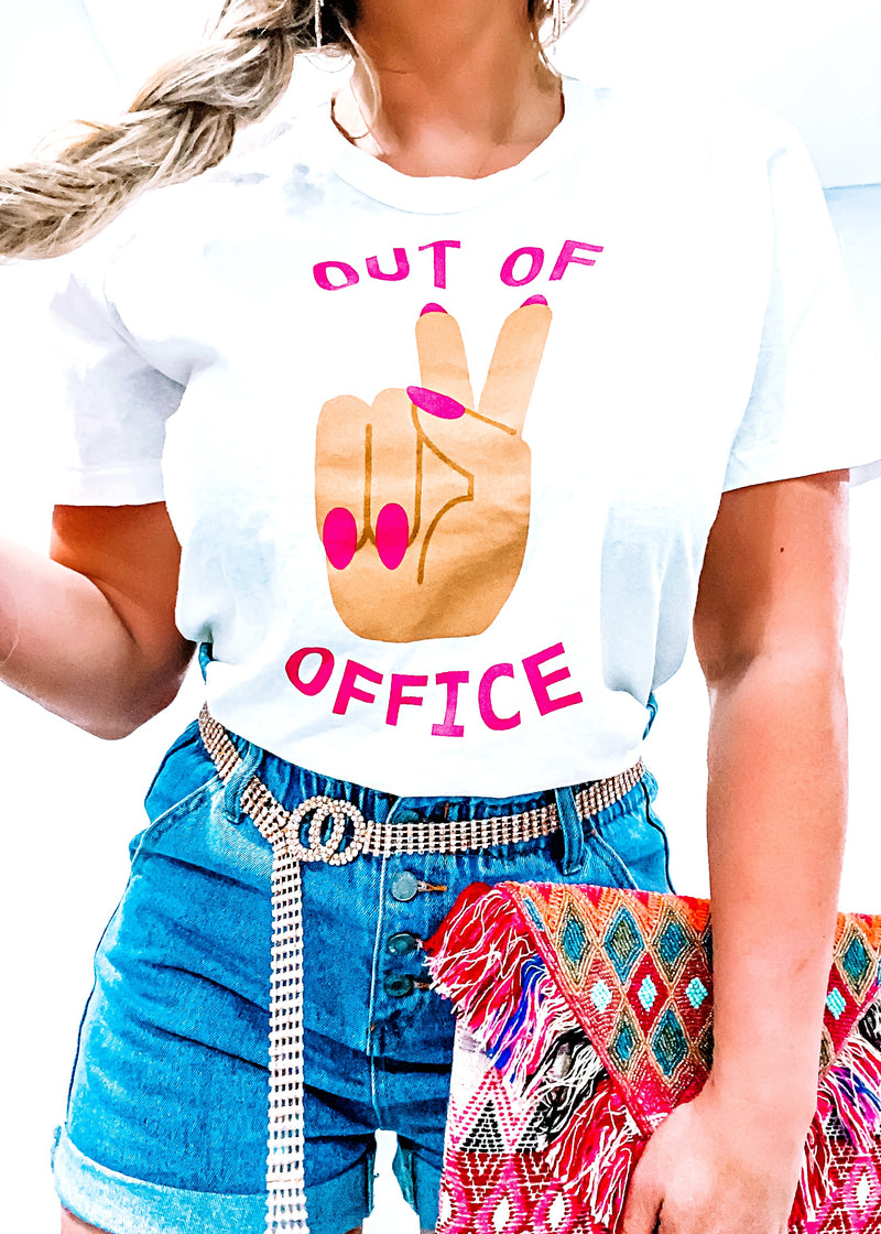 "Buddy Love ""Out of Office"" Tee - Brunch Babe"