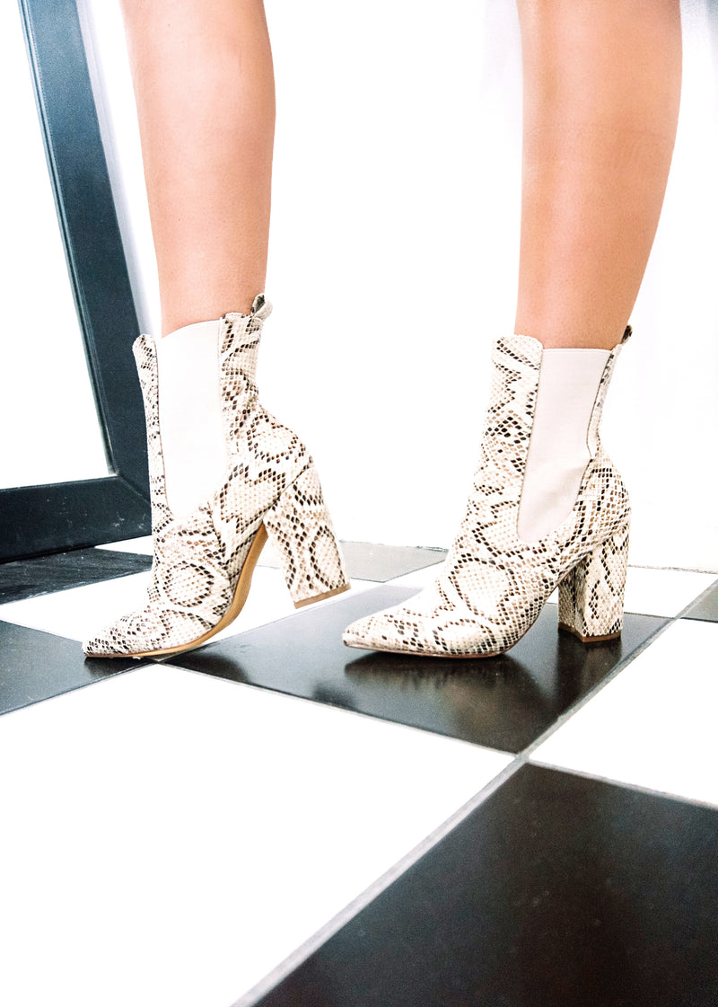 Snake Bite Booties - Brunch Babe