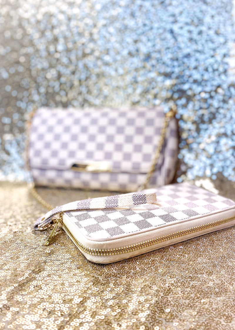 The Lacey Wallet, Cream