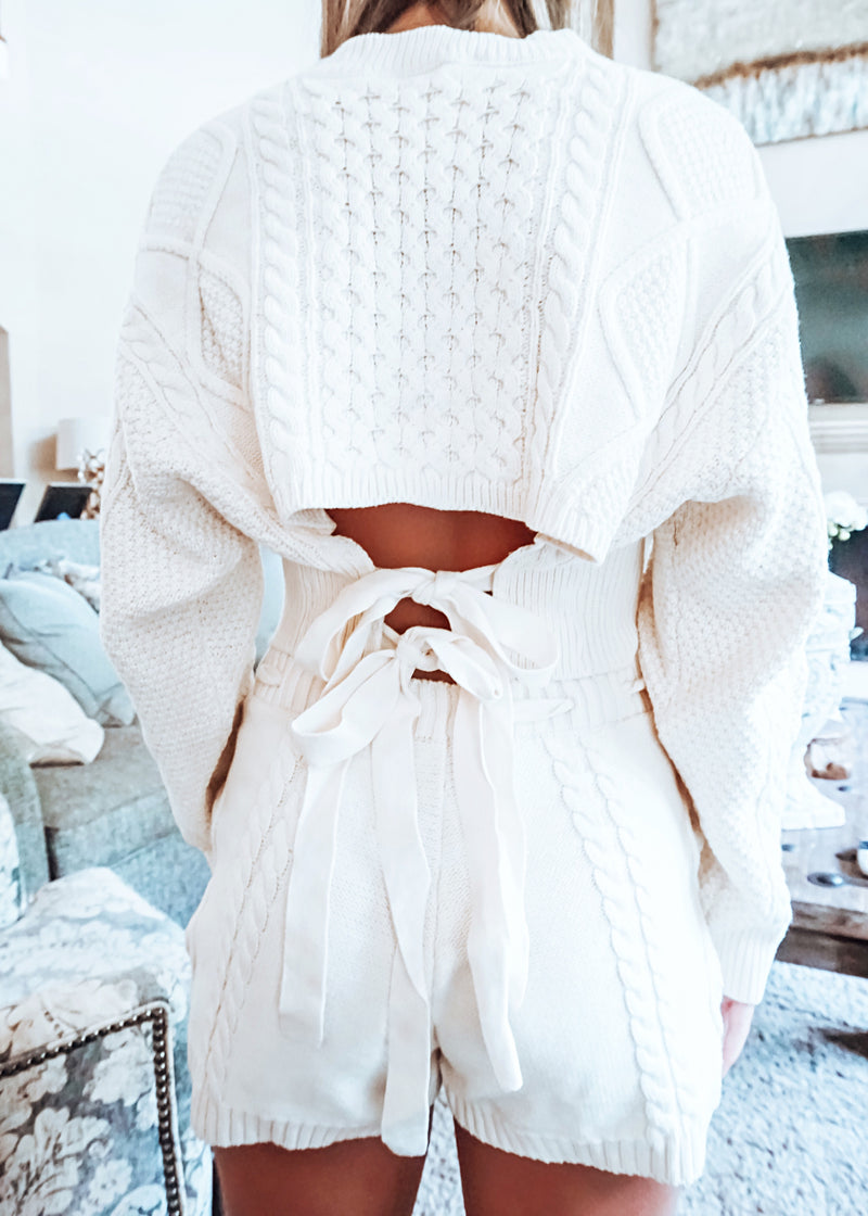 Cozy Cream Lounge Set - Brunch Babe
